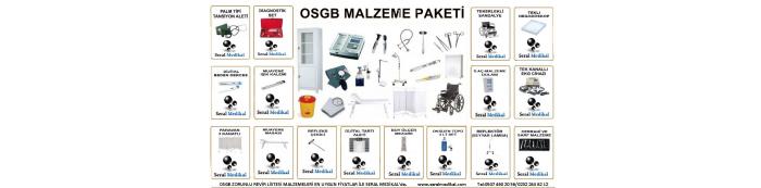 OSGB Revir Malzemeleri